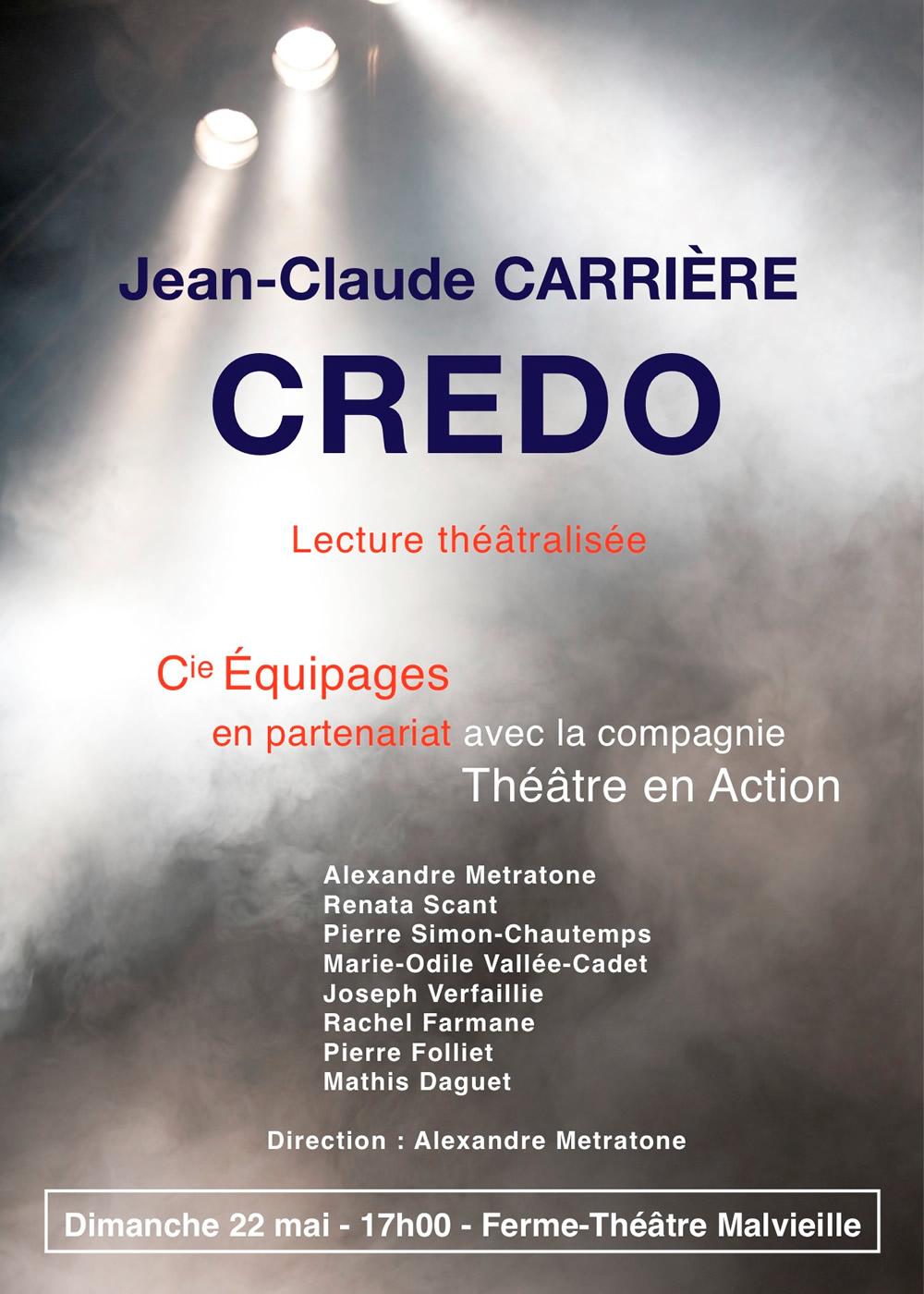 Credo de Jean-Paul Carrière